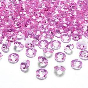 Pink borddiamanter
