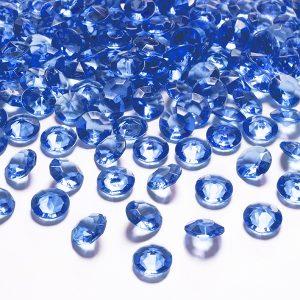 Borddiamanter navy blue