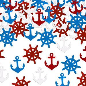 Konfetti maritimt tema