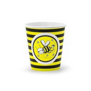 Papkrus med bi