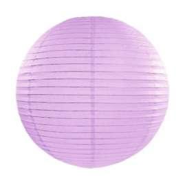 Lavendel rispapirlampe