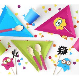 GRR Børnefest tallerkener