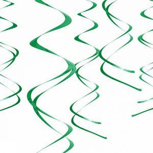 Grønne swirls
