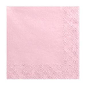 Baby pink servietter