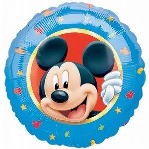 Mickey microfoil ballon