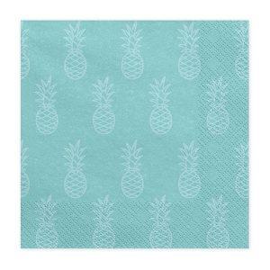 Servietter med ananasser