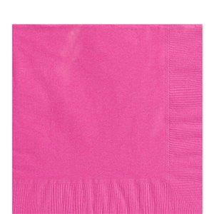 Økonomipakke pink servietter