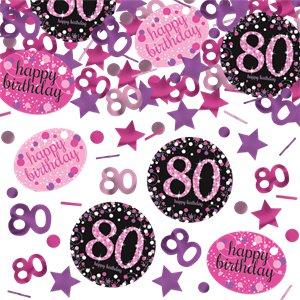 Confetti 80 år