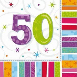 50 år Fødselsdag