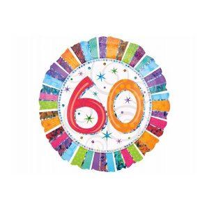 Folieballon 60 år