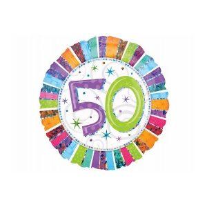 50 år folieballon