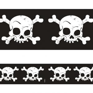 Tape med dødningehoveder