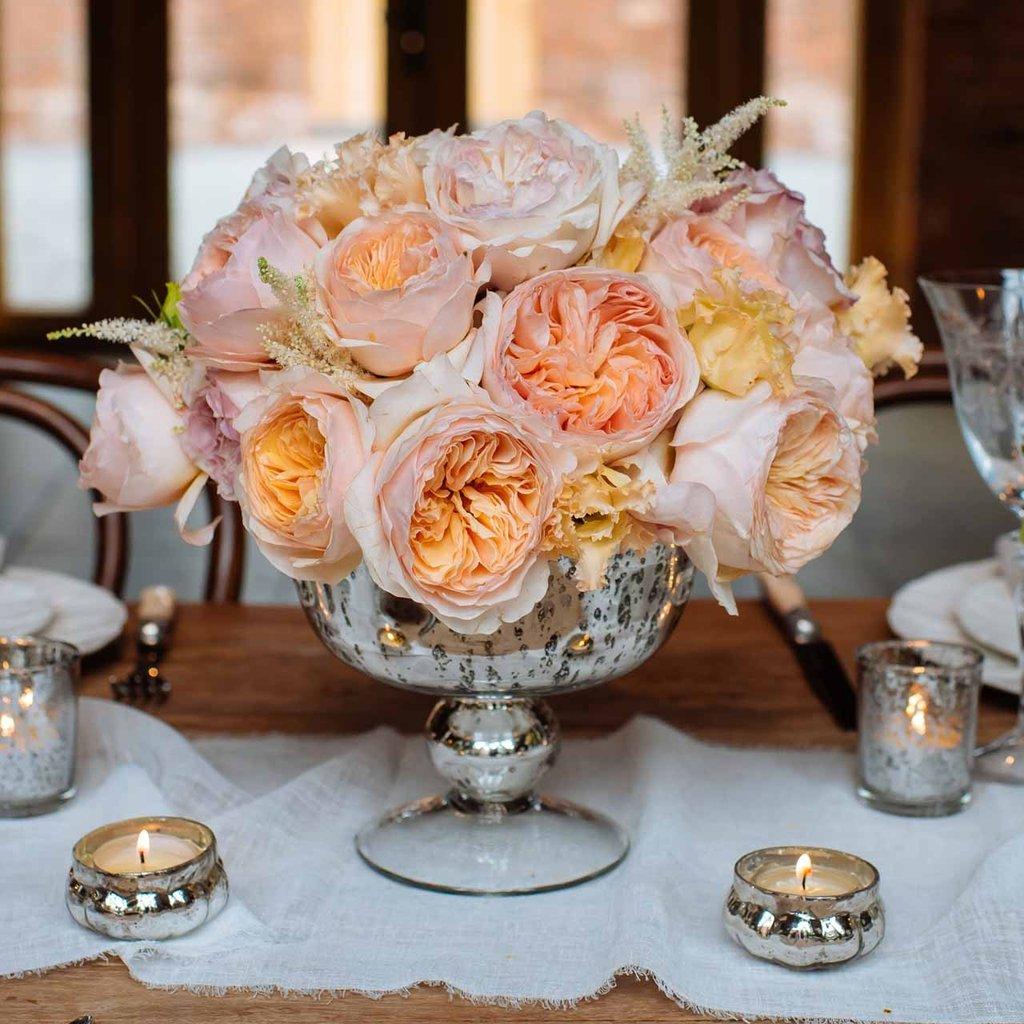 Fyrfadsholdere og vaser