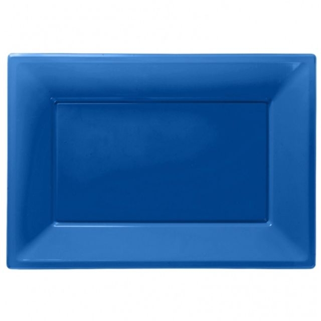 Royal blue serveringsfade