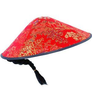 Konisk mandarin hat kina