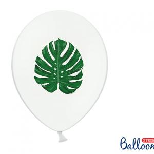 Hawaii balloner med grønne blade