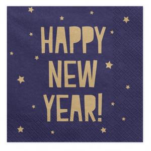 Happy New Year Servietter
