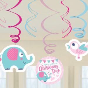 Swirls med elefant