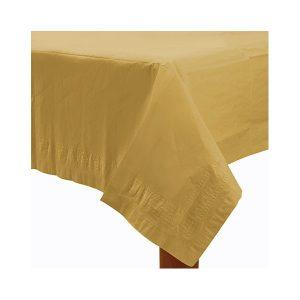 Guldfarvet papirsdug
