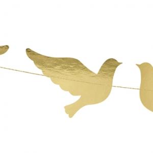 Guirlande med duer