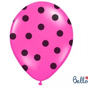 Hot pink balloner