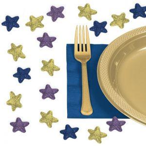 EID bordkonfetti med glimmer