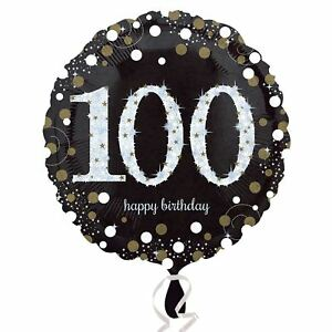100 år foil balloon