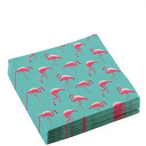 Flamingoer servietter