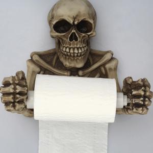 Skelet toiletrulleholder